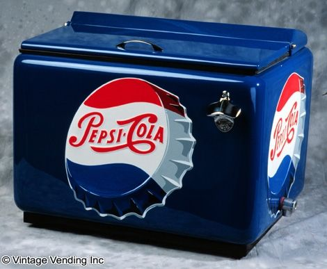 vintage pepsi coolers for sale | ... Vending Machines, Soda Fountains & Antique Advertising Blog - Part 5