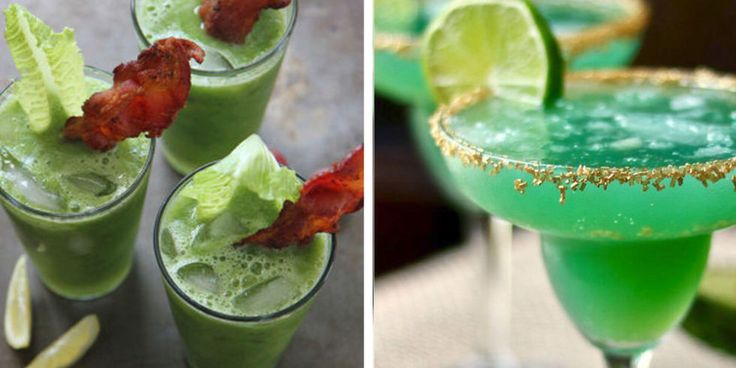 20+ Green Drink Recipes for St Patrick's Day - Green Cocktail Ideas
