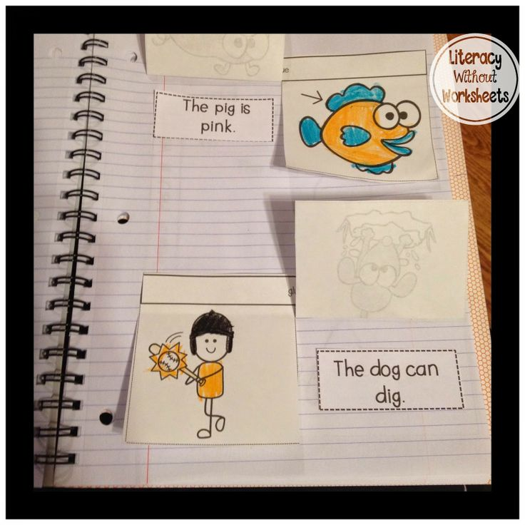 Perfect for sight word practice!  Interactive Notebooks to practice reading sentences!