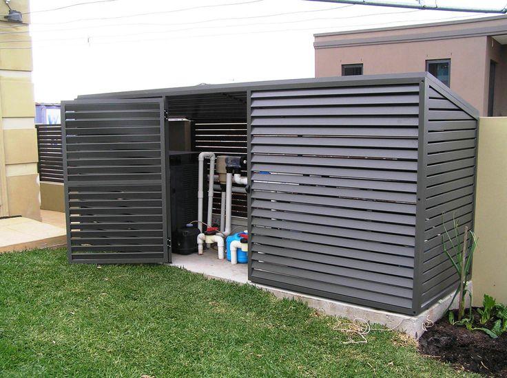 Pool Pump Enclosure Exteriors Pinterest Pumps