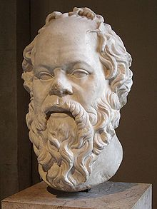 Socrates--Greek Philosopher called one of the founders of Western Philosophy