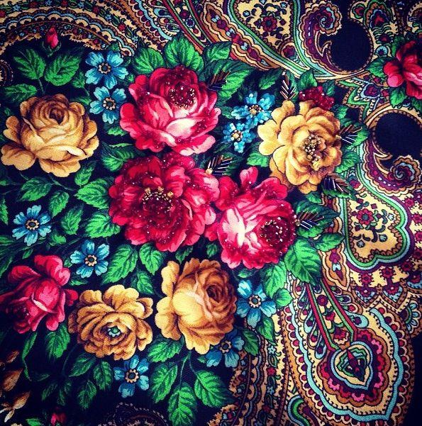 My rose shawl #PiagetRose