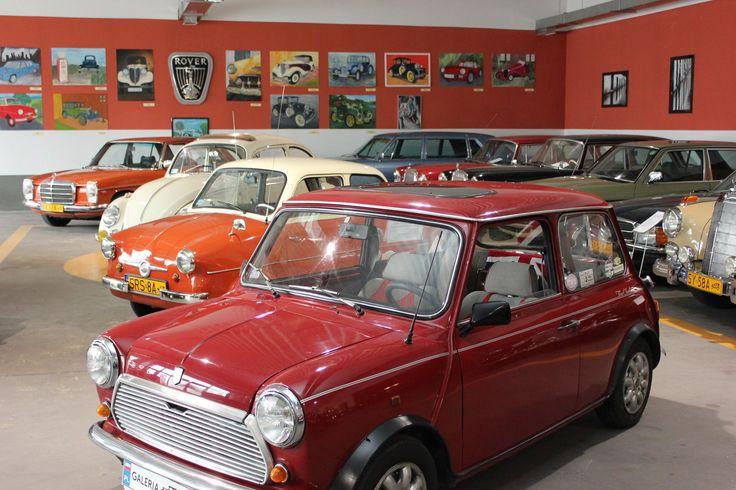 Oldsmobile w Galerii Motoryzacji i Techniki Bytomskiego Ośrodka Edukacji. fot. Piotr A. Jeleń