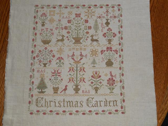 48 best cross stitching images on pinterest for Blackbird designs christmas garden