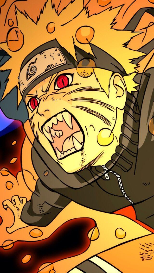 Naruto Uzumaki jinchūriki transformation anime iPhone