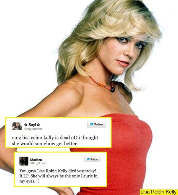 Lisa Robin Kelly Dies At 43: Fans React To 'That '70s Show' Star's Death