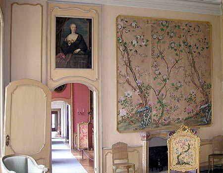 Camera della Marchesa Filippina, Castello Cavour, Santena, Torino