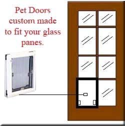 French Door ~ MaxSeal Pet Doors Custom Made