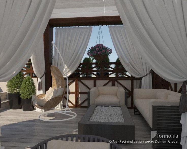 Дизайн веранды жилого дома, Architect and design studio Domum Group, Кухня, Дизайн интерьеров Formo.ua