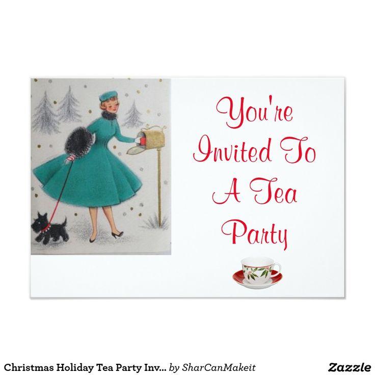 880 best Tea Party Invitiation images on Pinterest   Zazzle ...