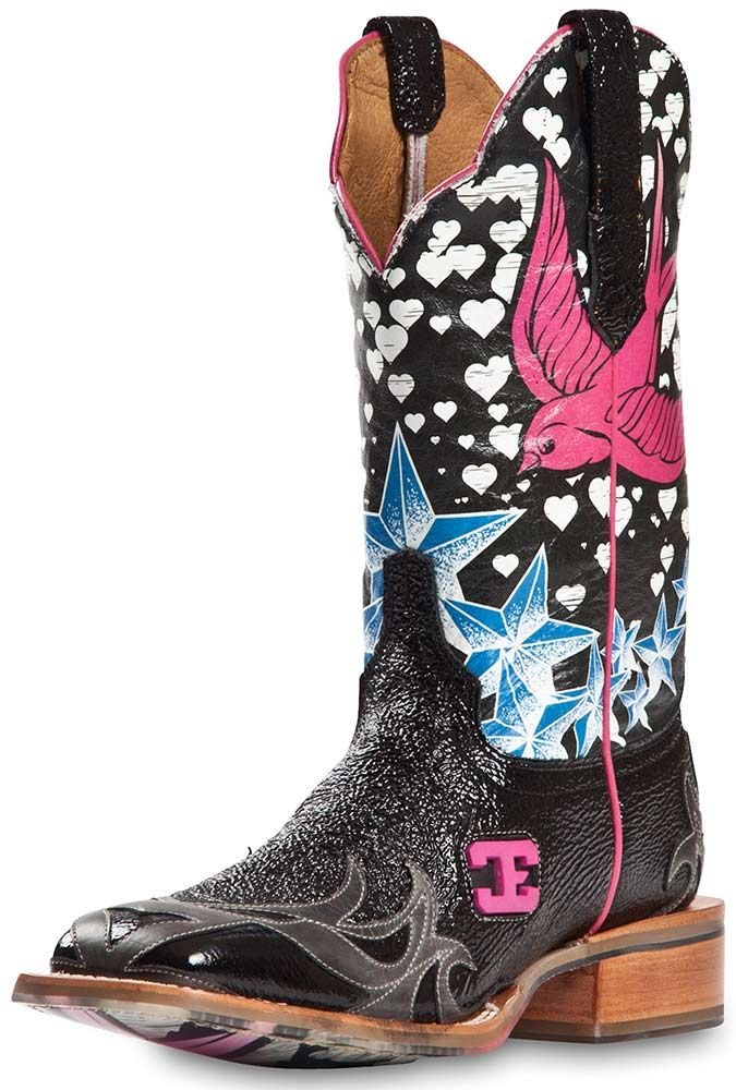 Cinch Womens Edge Stella Square Toe Cowgirl Boots ... Want these!