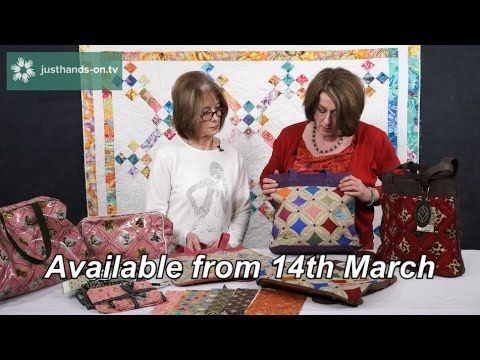 A preview of new online classes to be released on justhands-on.tv on Fri 17th March, Friday 24th March and Friday 31st March 2017.