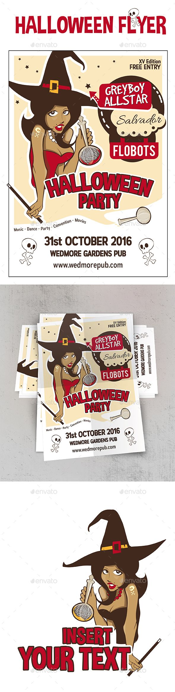 Halloween Flyer Party