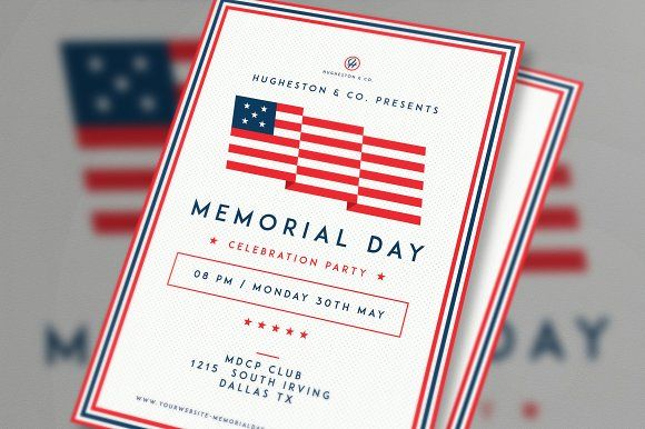 Labor Day Flyer \ Memorial Day Flyer by The Good Store on - labour day flyer template