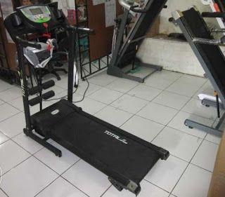 Toko Jual Alat Olahraga Purwokerto | Melayani COD | 0857-4263-5556: Treadmill elektrik ISP 222 C motor 1 HP dengan Mas...