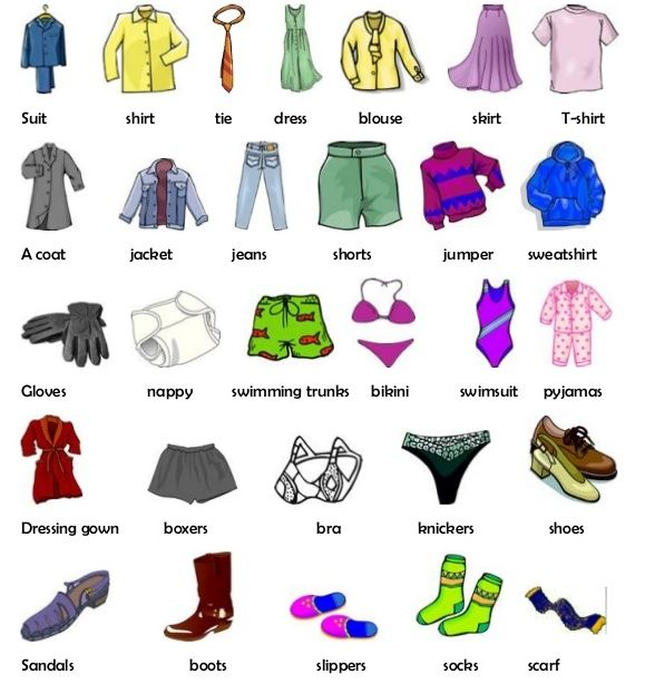 504 best clothing vocabularies images on Pinterest