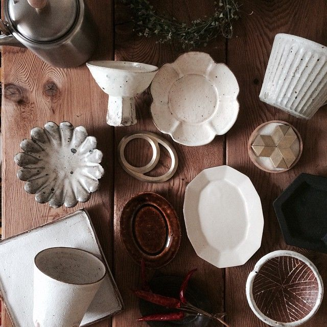 Adding some new bits to the collection. #pottery #utsuwa #うつわ #器 #plates #futagami #高木剛 #叶谷真一郎 #石川裕信 #豆皿 #安斎新 #戸田文浩