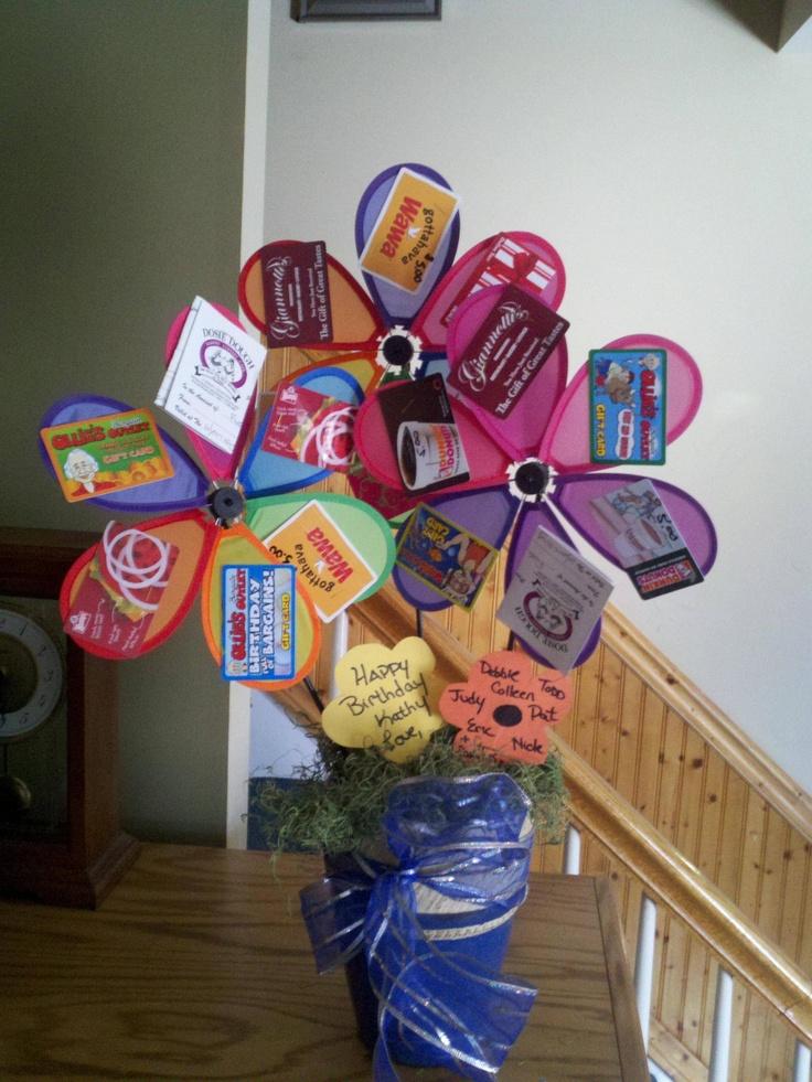Gift card presentation idea! Gift ideas Pinterest