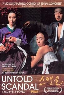 """Untold Scandal"" Based on the novel 'Les Liaisons Dangereuses,' this film is set in aristocratic 18th-century Korea at the end of the Chosun Dynasty."