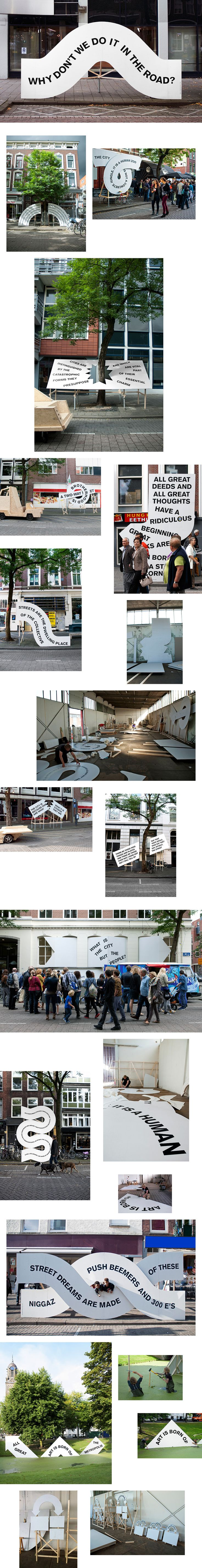 Festival De Wereld van Witte de With entitled The Street – LIve Issue! curated by Feireiss looks into the subject of the 'street'.