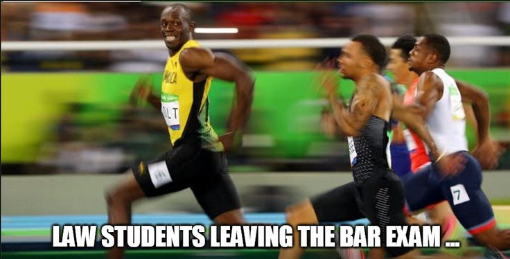#Peace! #Cya! #Rearview #MondayLegalHumor #lawstudents #barexam #lol #funny #usainbolt #olympics