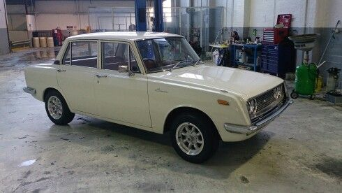 My super clean and original 1968 Toyota Corona RT40 with Superlights.