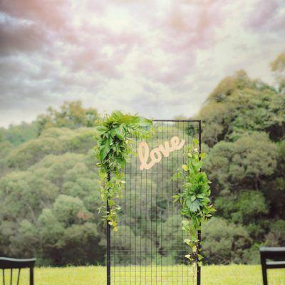 Chic Backdrop - Port Douglas Wedding Arch Hire
