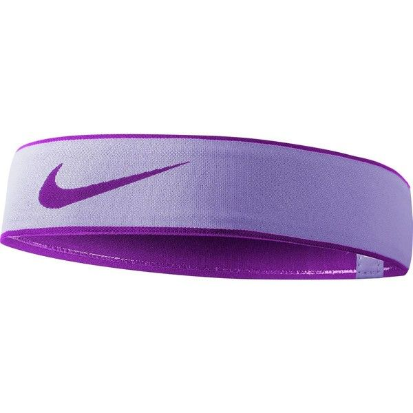 Nike Pro Swoosh Headband 2.0 ($15) ❤ liked on Polyvore featuring accessories, hair accessories, hair band accessories, nike, hair band headband, head wrap hair accessories and nike headbands