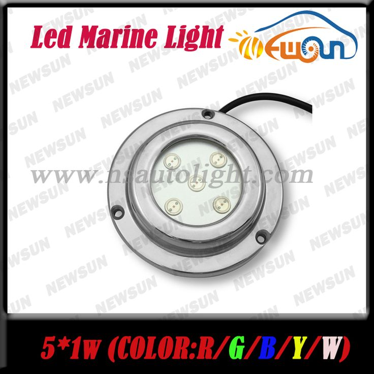 ==> [Free Shipping] Buy Best Stainless Steel IP68 Underwater LED Boat Light 12V 5W Yacht Light Red Boat Marine LED Light Undewater Light Lamps Red FreeShip Online with LOWEST Price | 32605772280
