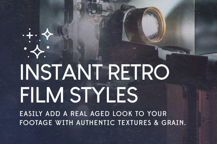 Liam Mckay Vintage Film Overlays For Video Editing Retro Film Overlays Film