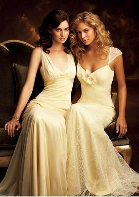 Might be the most beautiful bridesmaid dresses! Love the simplicity!
