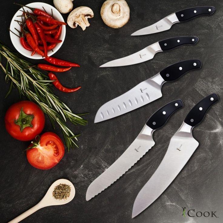 Нож — незаменимый помощник на кухне.  iCook™ Набор ножей — прекрасный выбор для любой хозяйки. Все ножи сделаны из высококачественной стали и имеют великолепную заточку. В набор входит футляр, который защищает лезвия и облегчает поиск нужного ножа.  Как купить  продукцию AMWAY дешевле :  http://elenafedulina.com/page59886  iCook™ Набор ножей — это не просто набор кухонных принадлежностей, а ваш комфорт и радость во время приготовления любимых блюд!  #AmwayHome #iCook #наборножей…