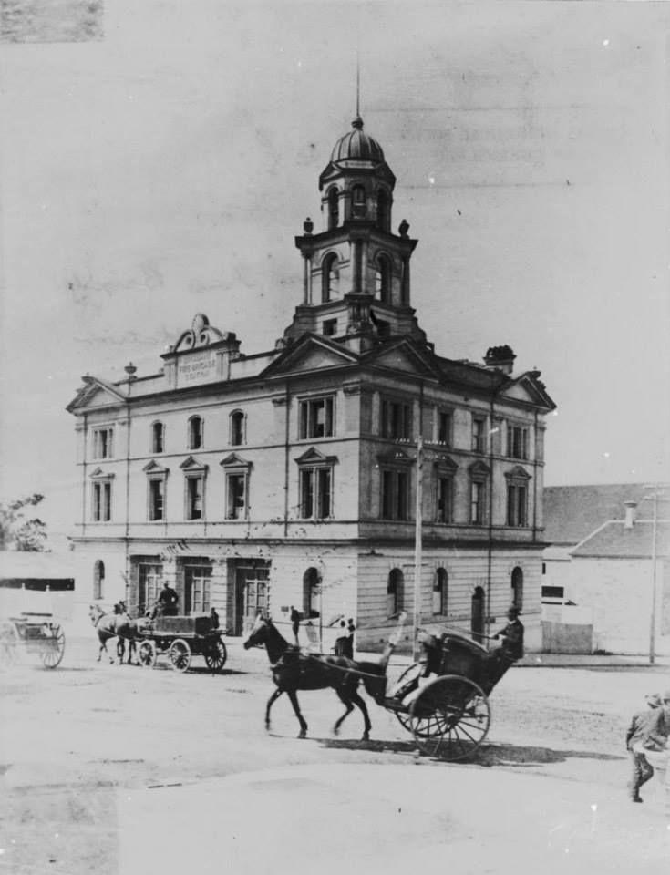 Brisbane Fire Brigade Station, Edward and Ann Street, ca 1899