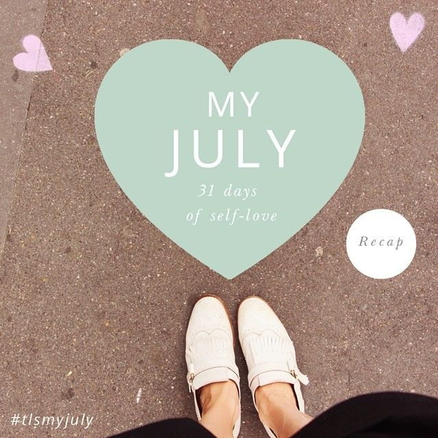 Today marks the start of a new month and the end of My July! On the blog today, our recap of our month of self love including the personal stories of some of our most active My July followers! We've also announced the winner of our ultimate self love prize pack in the post so pop over to check if you're the lucky winner! Read the full post via the blog: http://www.thelittlesage.com/my-july-2014/