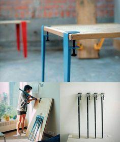 あらゆる板をテーブルに変えてしまう!Floyd Legって知ってる? | CRASIA(クラシア)