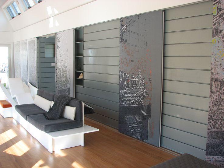 Interior Wall Reveal Panels, preweathered zinc, zinc ...