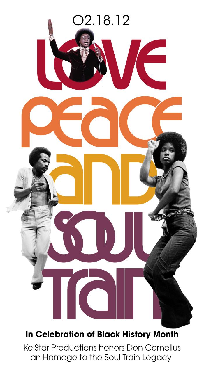 love peace and soul train - WORD!