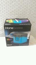 Ihome bluetooth de color cambiante Reloj Alarma Dual Radio FM con USB