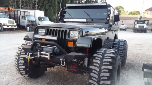 1994 Jeep Wrangler 4 0 Yj 4x4 Lifted For Sale Photos Technical