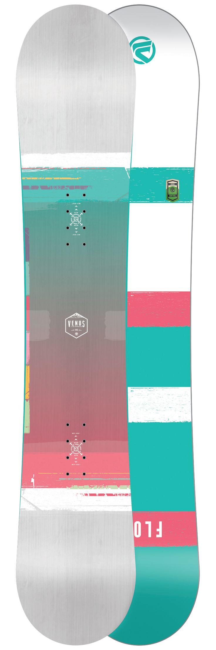 Planche snowboard Flow Venus White Semelle 2017