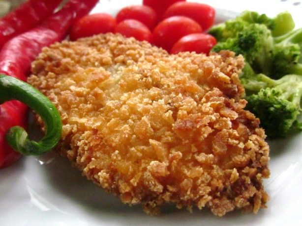 This is a fast and easy recipe to make on a busy night.  We especially like the crunch of the Panko bread crumbs. (Panko crumbs can be found in the Asian section of the supermarket.)