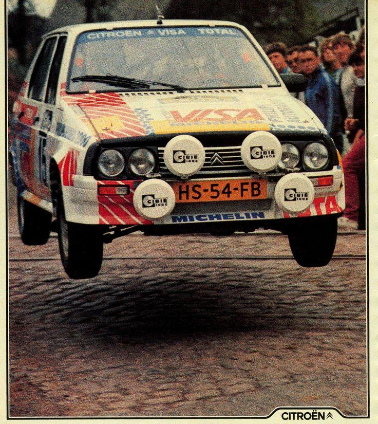 Citroen Visa Rallye Jump