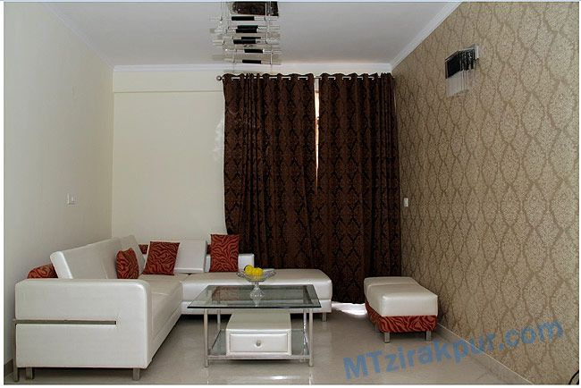well designed living room with lot of space to provide high comfortness.