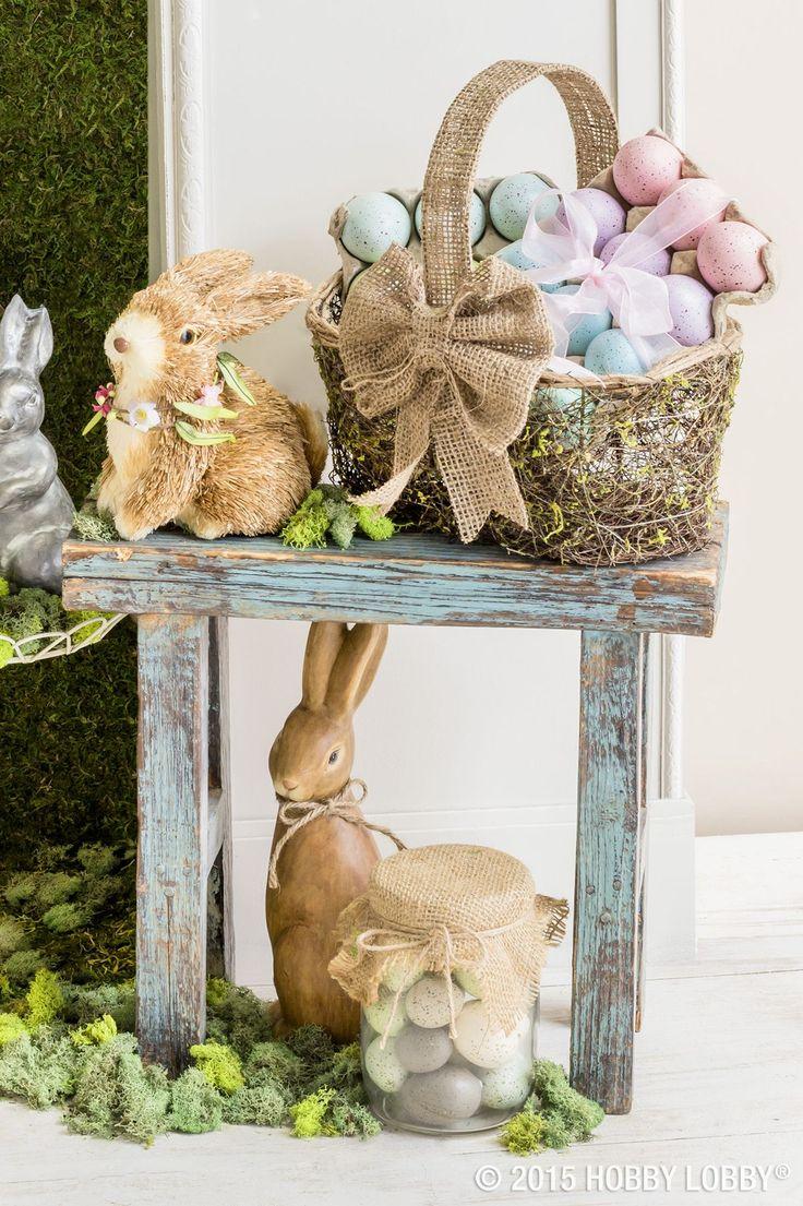 252 best Easter Decor & Crafts images on Pinterest | Easter decor ...