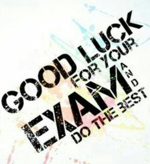 Good Luck Quotes For Board Exams: 17 Best Ideas About Good Luck For Exams On Pinterest