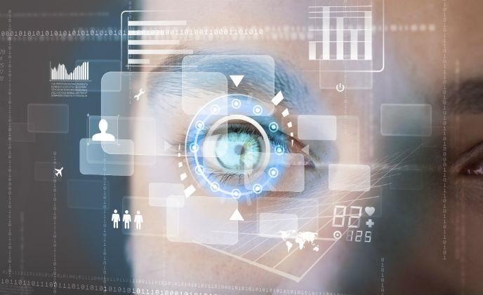 Eyelock iris recognition technology works from 60 cm away - asmag.com  #biometrics #irisrecognition #identification