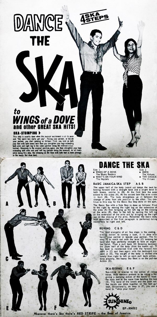 Dance The Ska Music Related Miscellany Pinterest