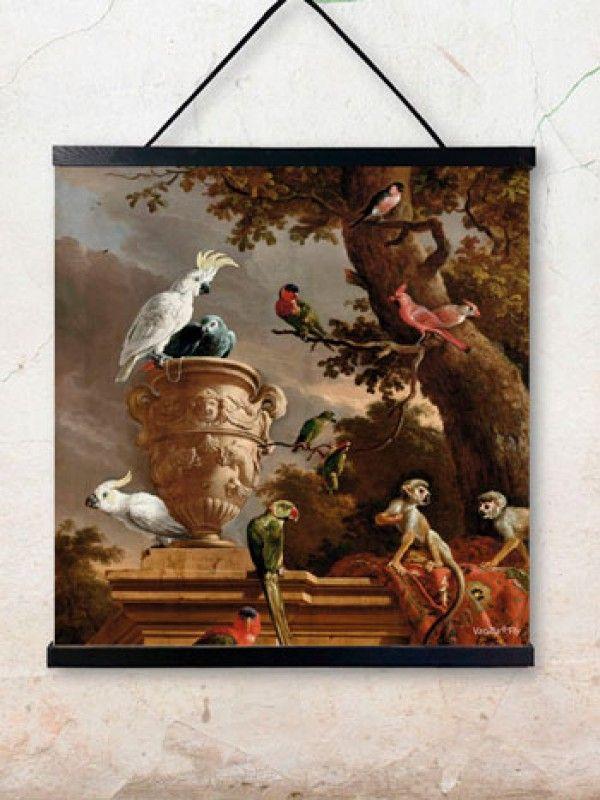 VANILLAFLY.DK - ARTPRINT 50X50CM poster cockatoo pscxl20 wall hanger is sold separately