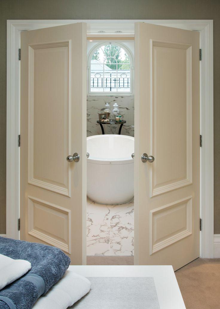 Iris White Bespoke door & 34 best Bespoke Doors images on Pinterest | Bespoke Internal ... Pezcame.Com