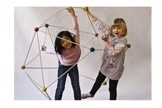 Make your own ball or sculpture with this building kit from OgoSport. This brilliant toy brings construction and active play together.
